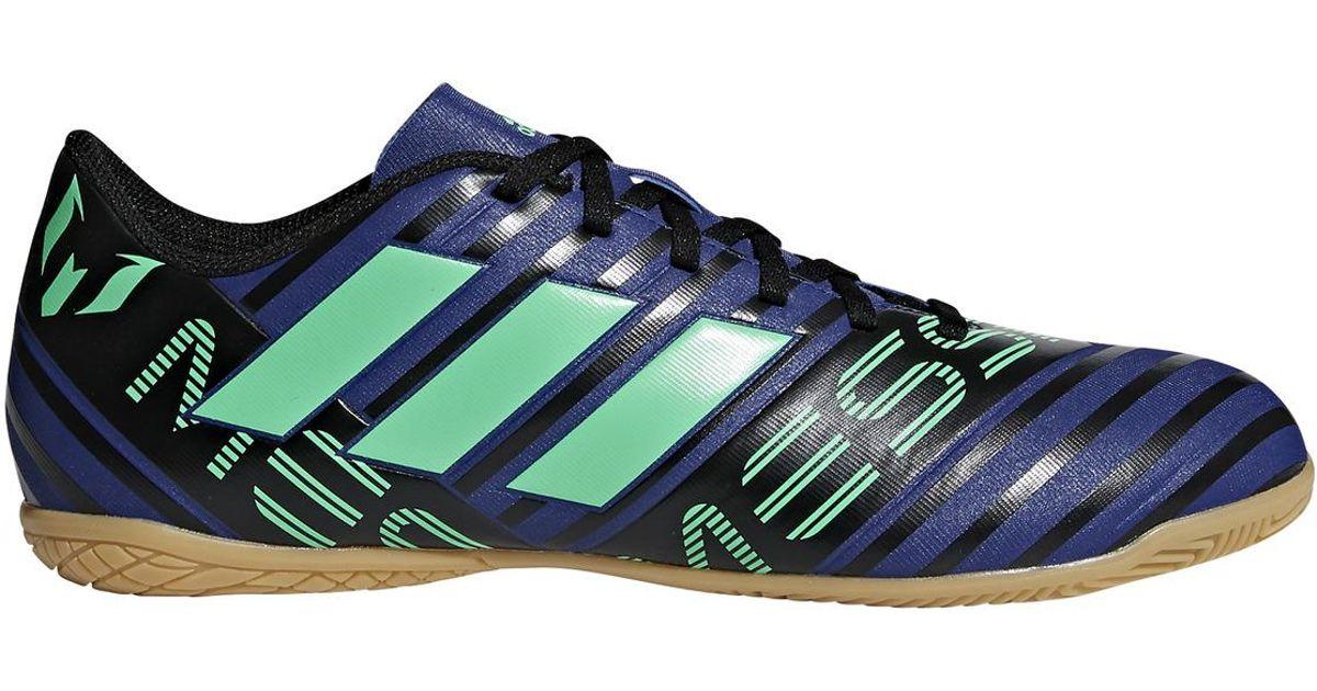 58872a2c2c7e adidas Nemeziz Messi Tango 17.4 In Indoor Football Boots in Blue for Men -  Lyst