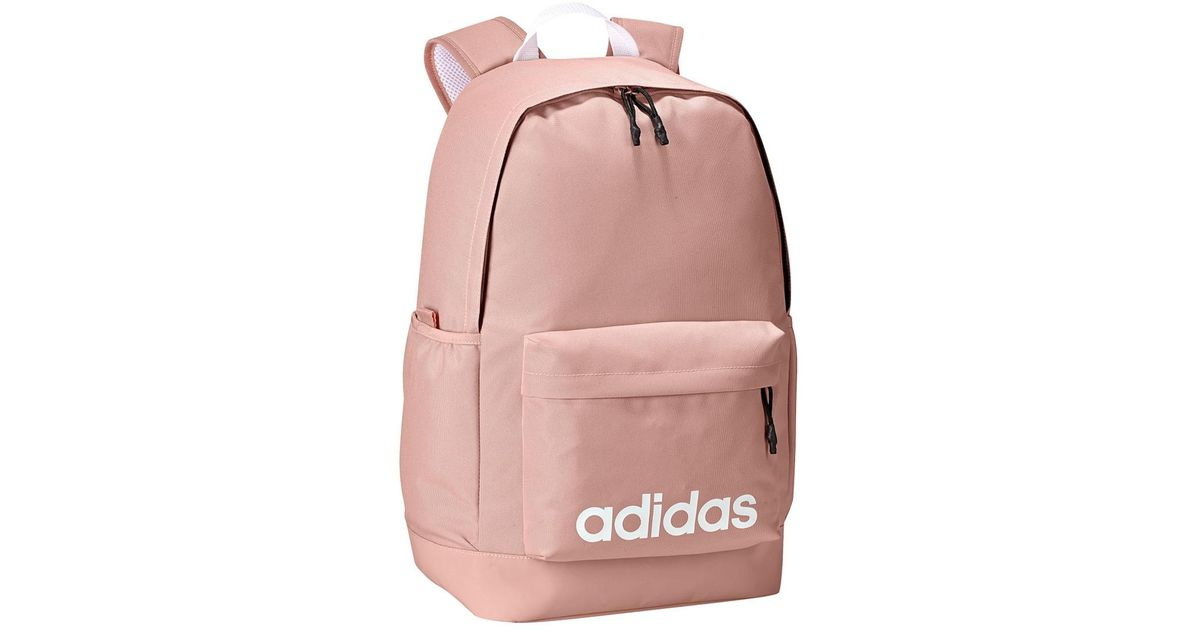 81b02d3070 Adidas Neo Daily Backpack in Pink - Lyst