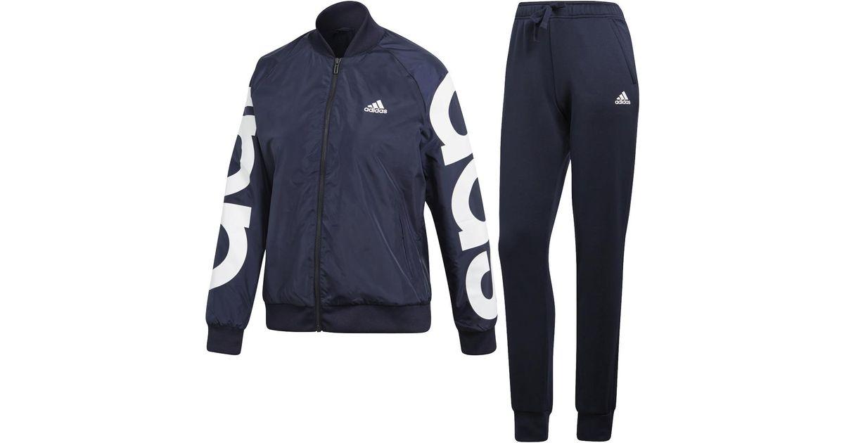 12fbb33dee4 adidas Wts Co Marker Tracksuit in Blue - Lyst
