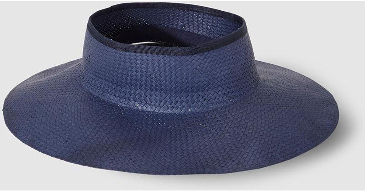 Lyst - El Corte Inglés Wo Blue Hat in Blue d88503c95729