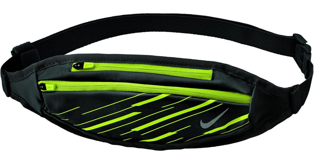 bc5fa167bd Nike Capacity Waistpack Small Running Bum Bag in Black for Men - Lyst