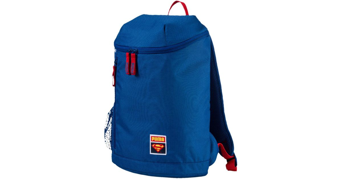 a2dc0e4fbaf3d PUMA Superman Backpack in Blue for Men - Lyst