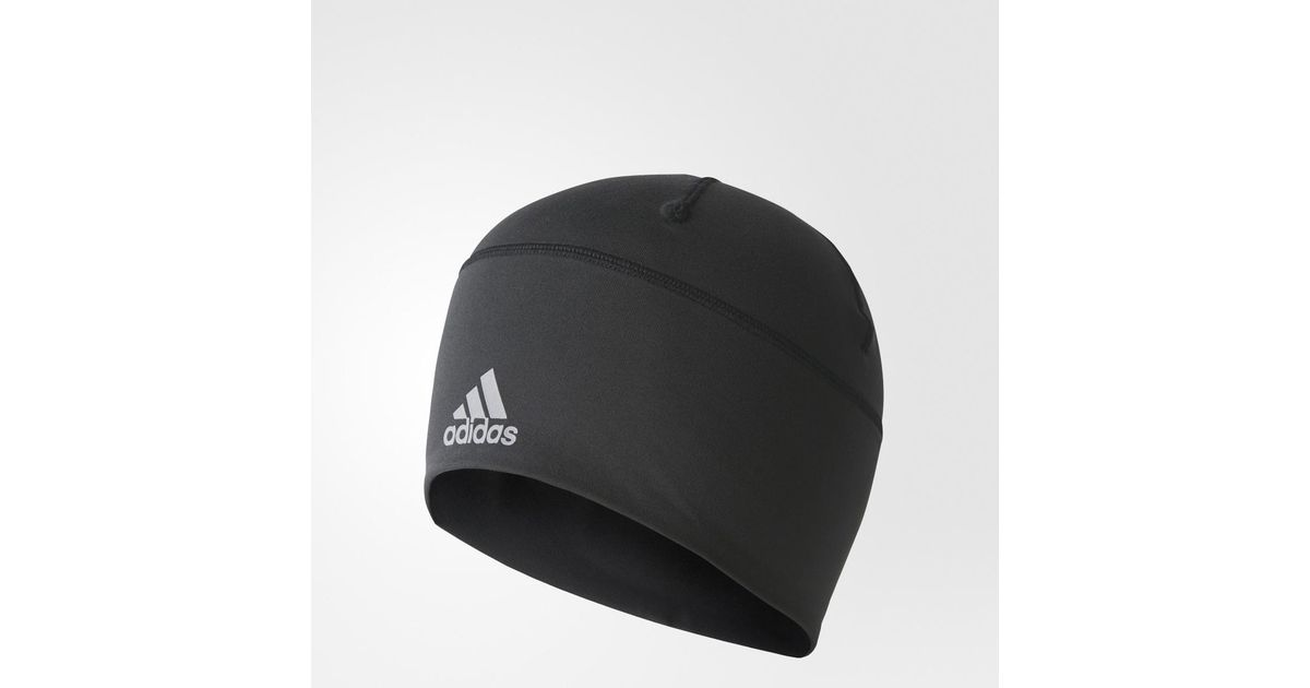 925ceb327 Adidas - Black Climalite Beanie Fitted Unisex Training Hat for Men - Lyst