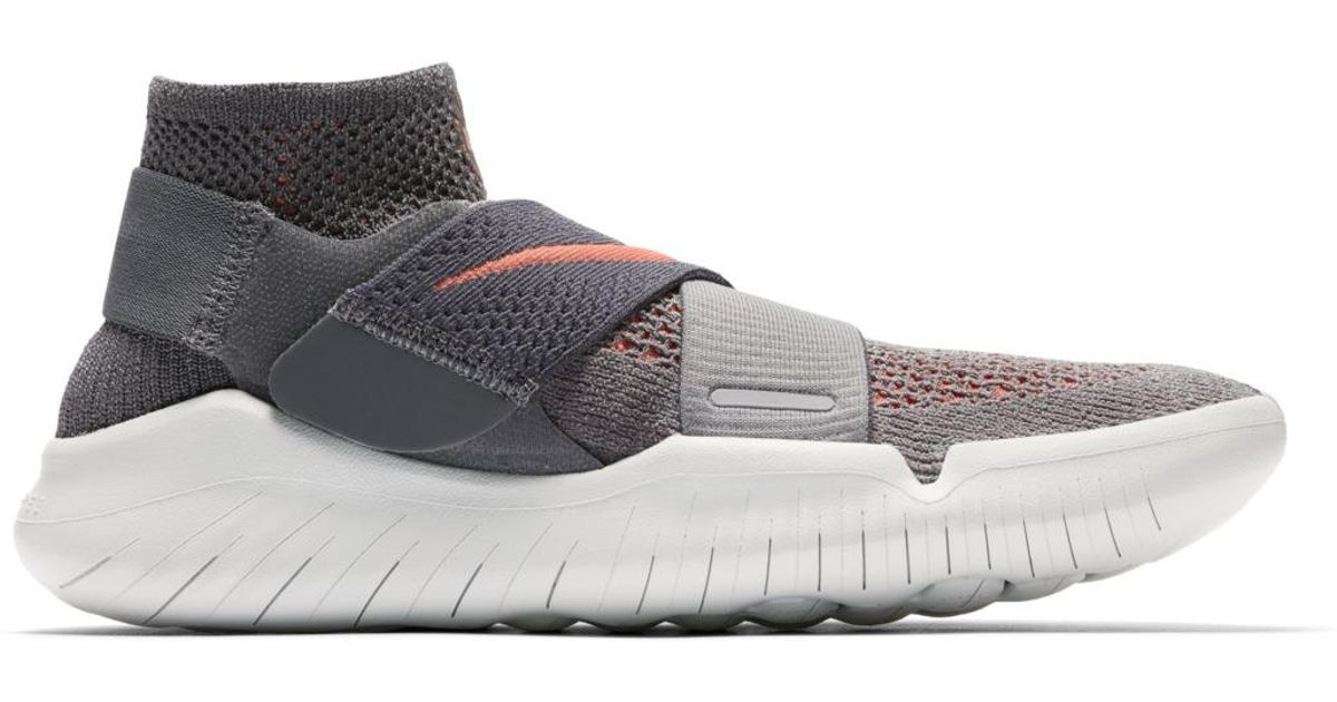 d6f958520a082 Nike Free Rn Motion Flyknit 2018 Running Shoes in Gray for Men - Lyst