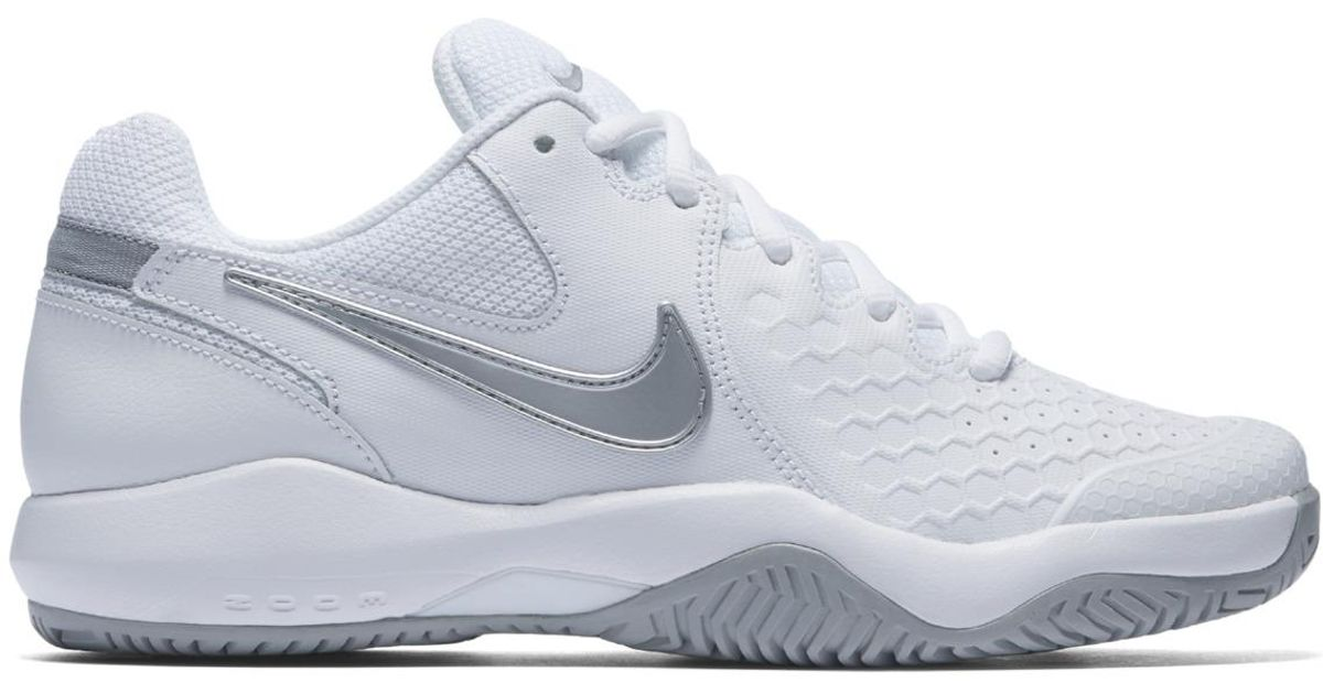 7c3f1cc0dc0a Lyst - Nike Air Zoom Resistance Tennis paddle Tennis Shoes in White