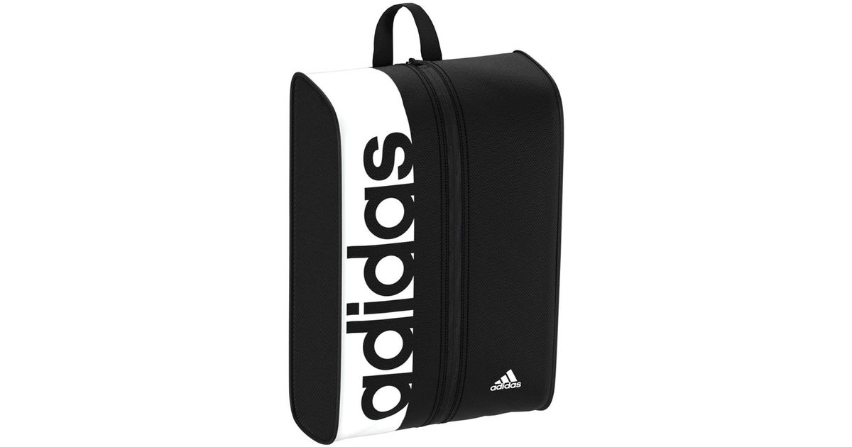 7fb213bbfc5f Lyst - adidas Linear Performance Shoe Bag in Black for Men