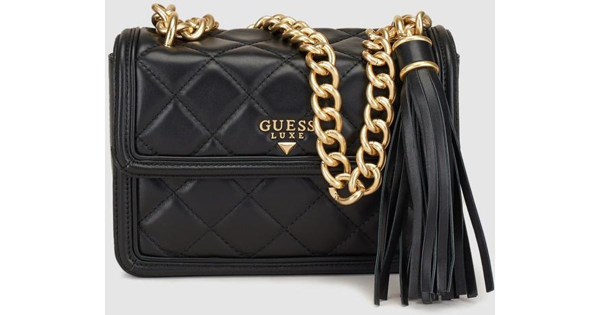 db0cae435c24 Guess Black Chain Handbag - Best Handbag 2018