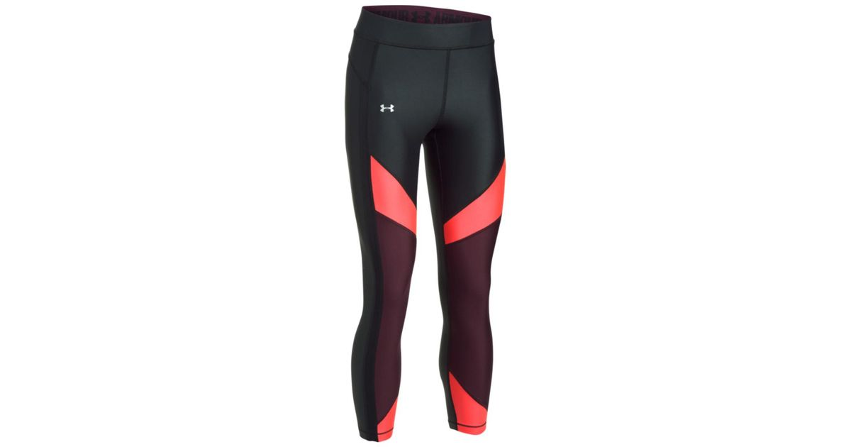 3a97d39992d8db Under Armour Ua Hg Color Tights in Black - Lyst