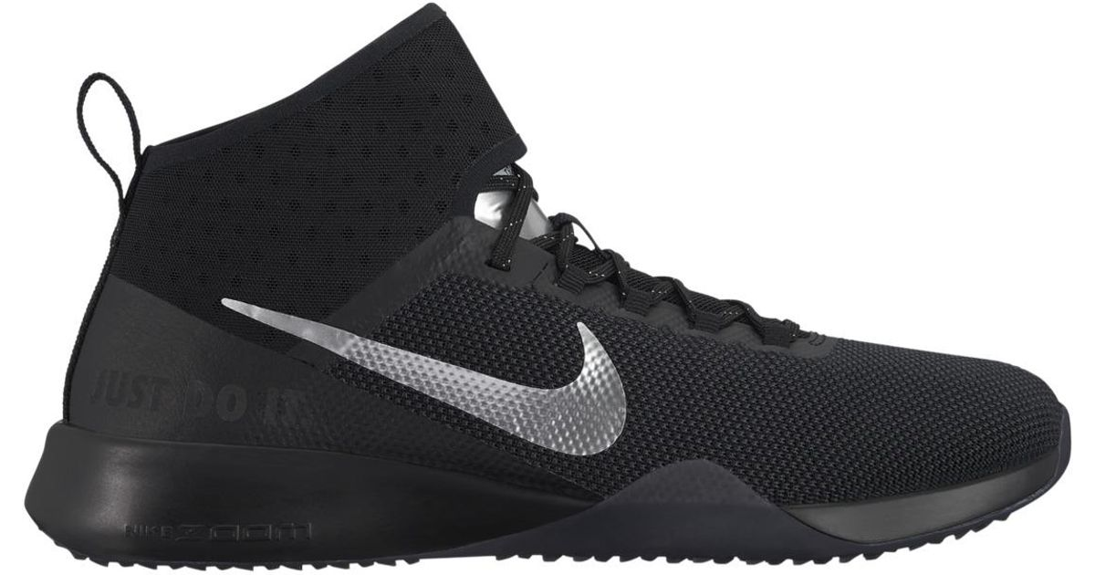 7b477f706cb08 Lyst - Nike Air Zoom Strong 2 Selfie Fitness cross Training Shoes in Black