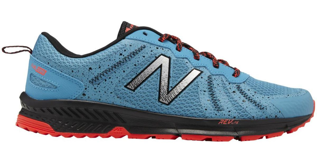 new concept a7c26 584e4 New Balance 590 V4 Trail Running Shoes in Blue for Men - Lyst