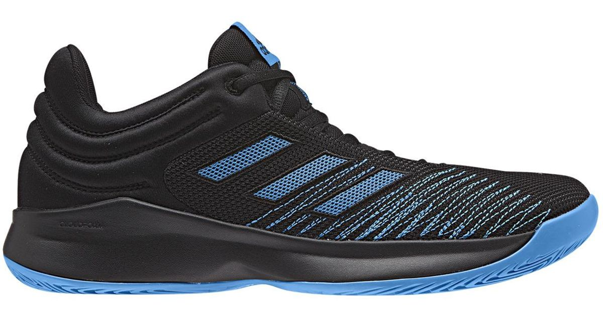 3a9cf4885a4f4 Adidas Pro Spark Low 2018 Basketball Shoes In Blue For Men Lyst