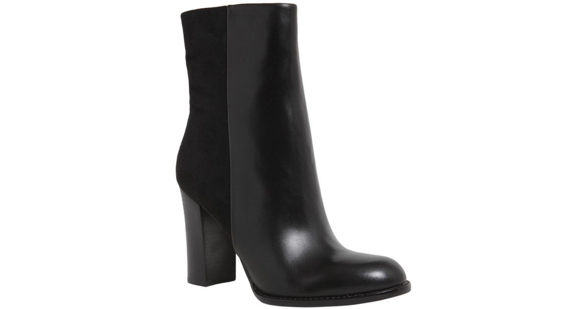 dc90ff0618e739 Lyst - Sam Edelman Reyes Leather Boots in Black
