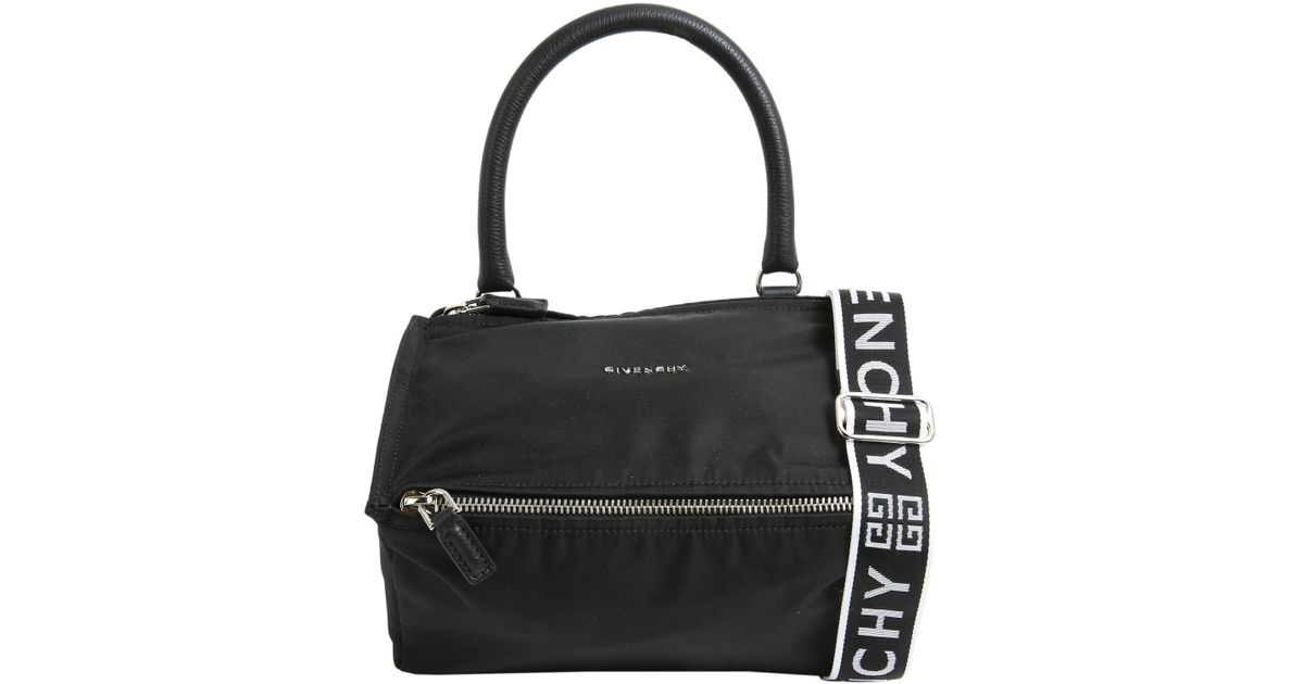 f1f1561edd5 Givenchy 4g Small Pandora Nylon Bag in Black - Lyst