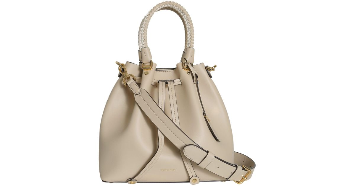 Blakely Large Tote Bag in Oat Viola Leather Michael Michael Kors LWboh1