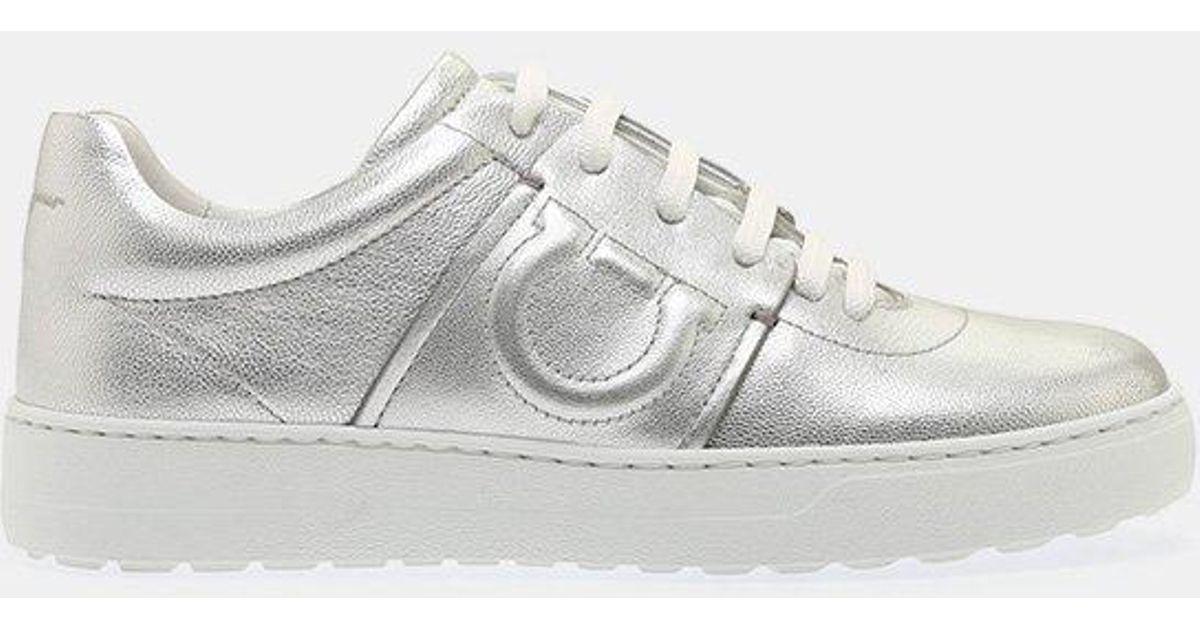 Fasano Sneakers in Silver Flair Silk Salvatore Ferragamo Free Shipping Release Dates jx8r7VXu5