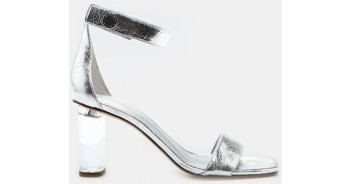 aa00f4b9b52 Lyst - Kendall + Kylie Lexx Ankle Strap Sandal in Metallic