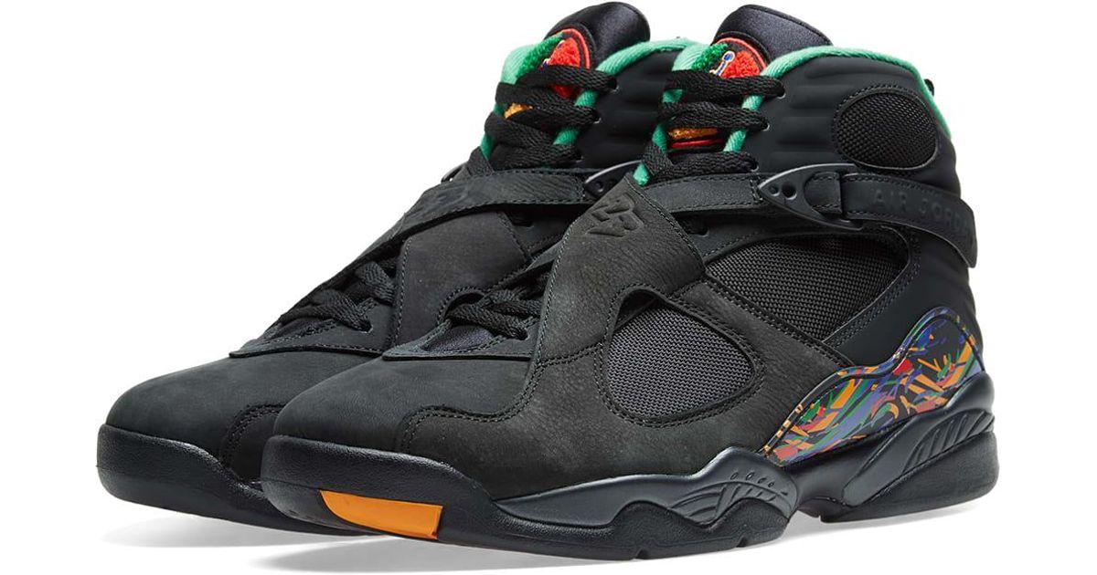 df95b779cc7601 Nike Air Jordan 8 Retro  mj X Tinker  in Black for Men - Lyst