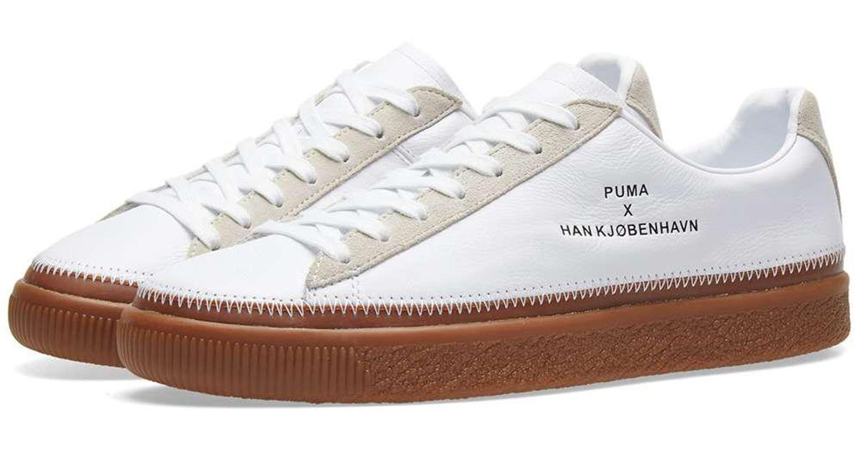 2984f70f9f29 Lyst - PUMA X Han Kjobenhavn Clyde Stitched in White for Men