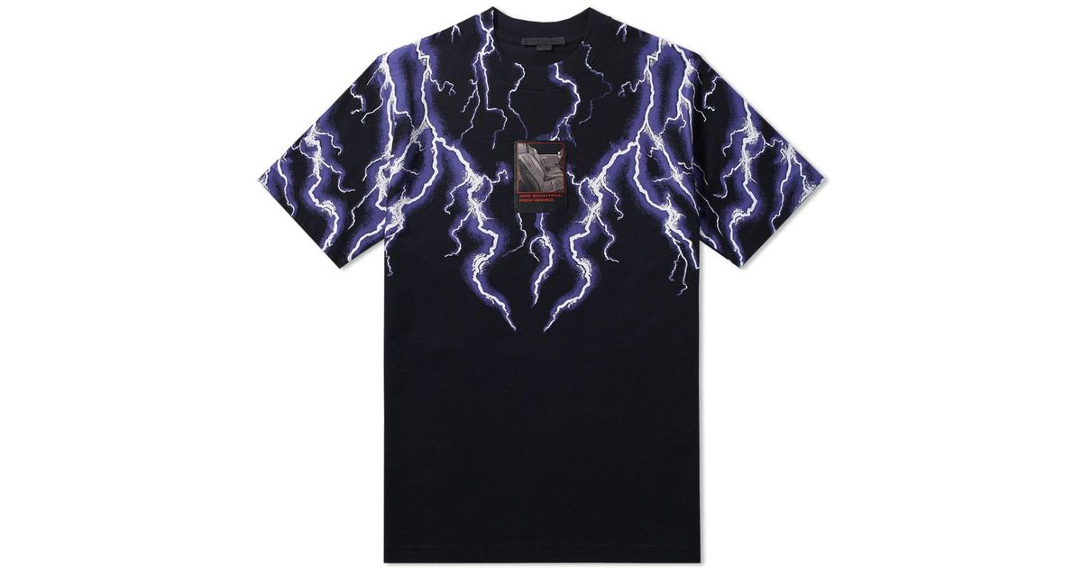 0a2491830 Alexander Wang Lightning Collage Tee in Black for Men - Lyst