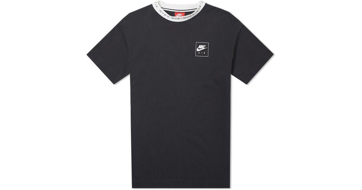 Lyst Heritage In 2 Air Tee For Men Black Nike FFR4r