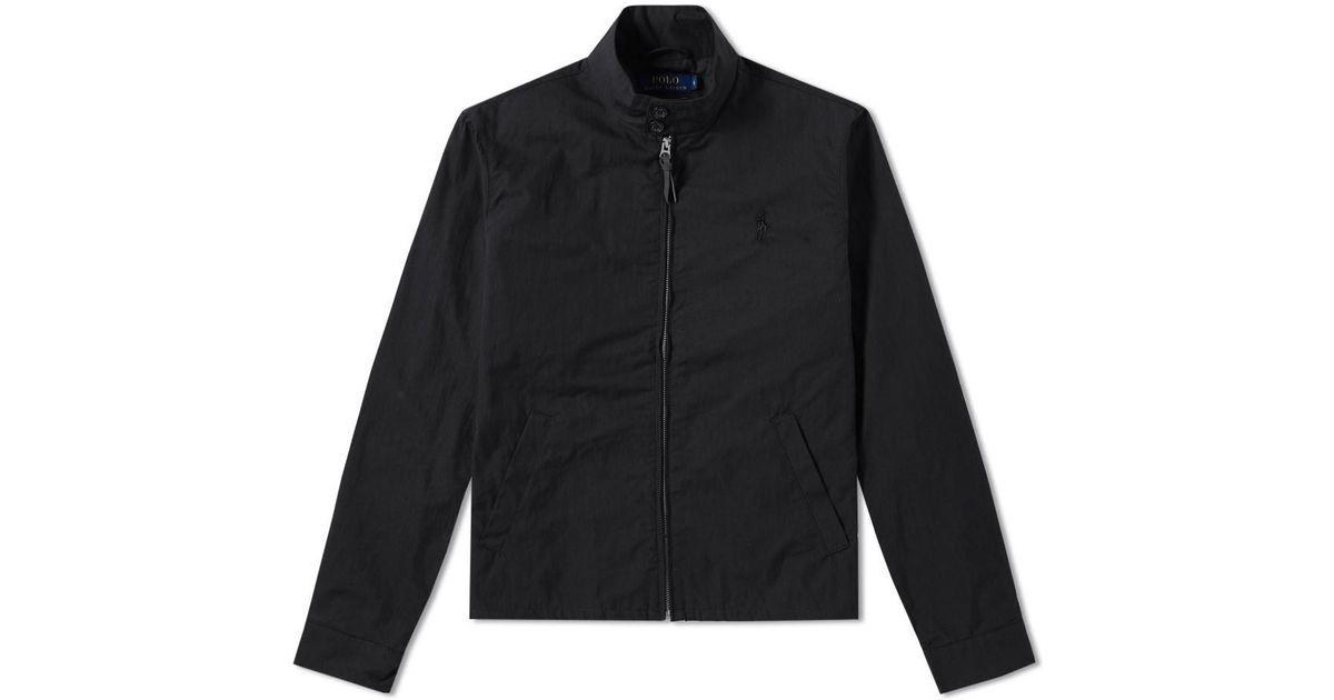 9d8ece6519c310 Polo Ralph Lauren - Black Barracuda Lined Jacket for Men - Lyst