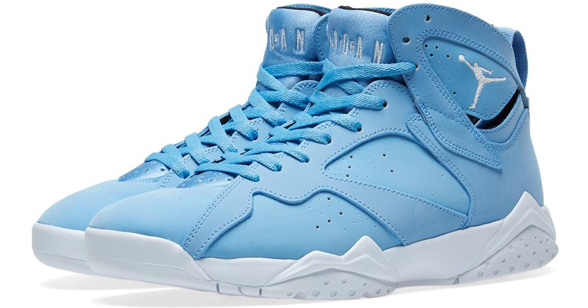 dd2302ac2af550 Lyst - Nike Nike Air Jordan Vii Retro in Blue for Men