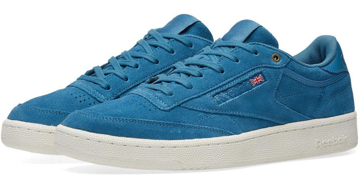 Lyst - Reebok Club C 85 Montana Cans Pack in Blue for Men 70243aa65