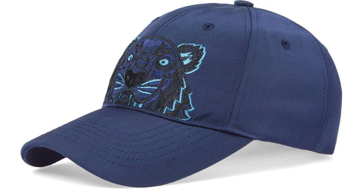 Lyst - KENZO Tiger Cap in Blue for Men 84de1dfe02e