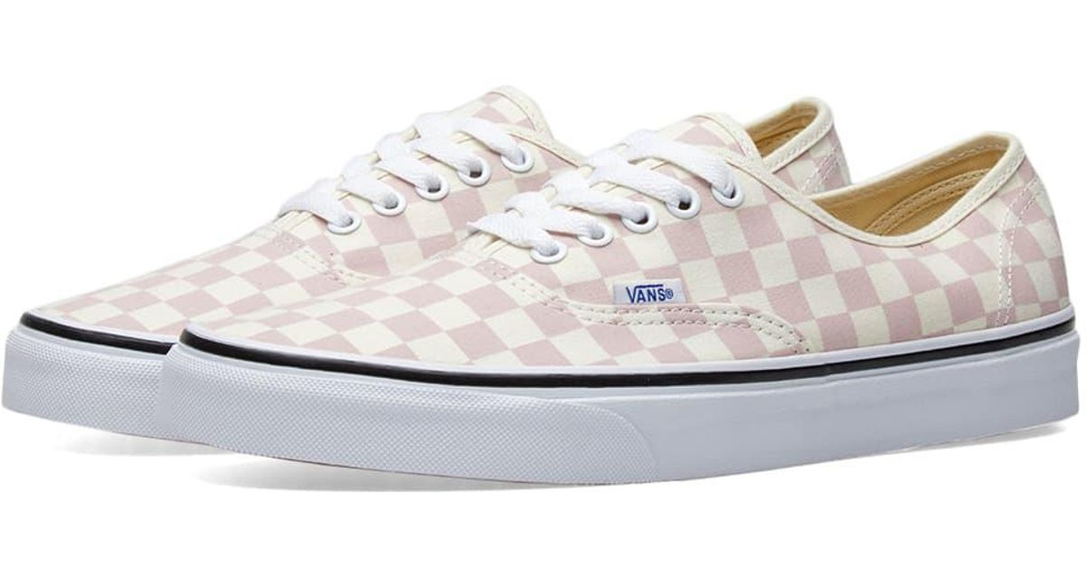 Lyst - Vans Authentic in Pink - Save 62% f1aa4d03c