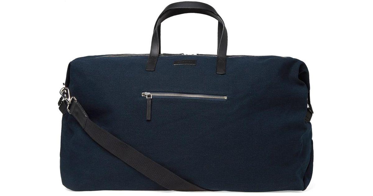 817ebd31c9 Lyst - Sandqvist Damien Weekend Bag in Blue for Men