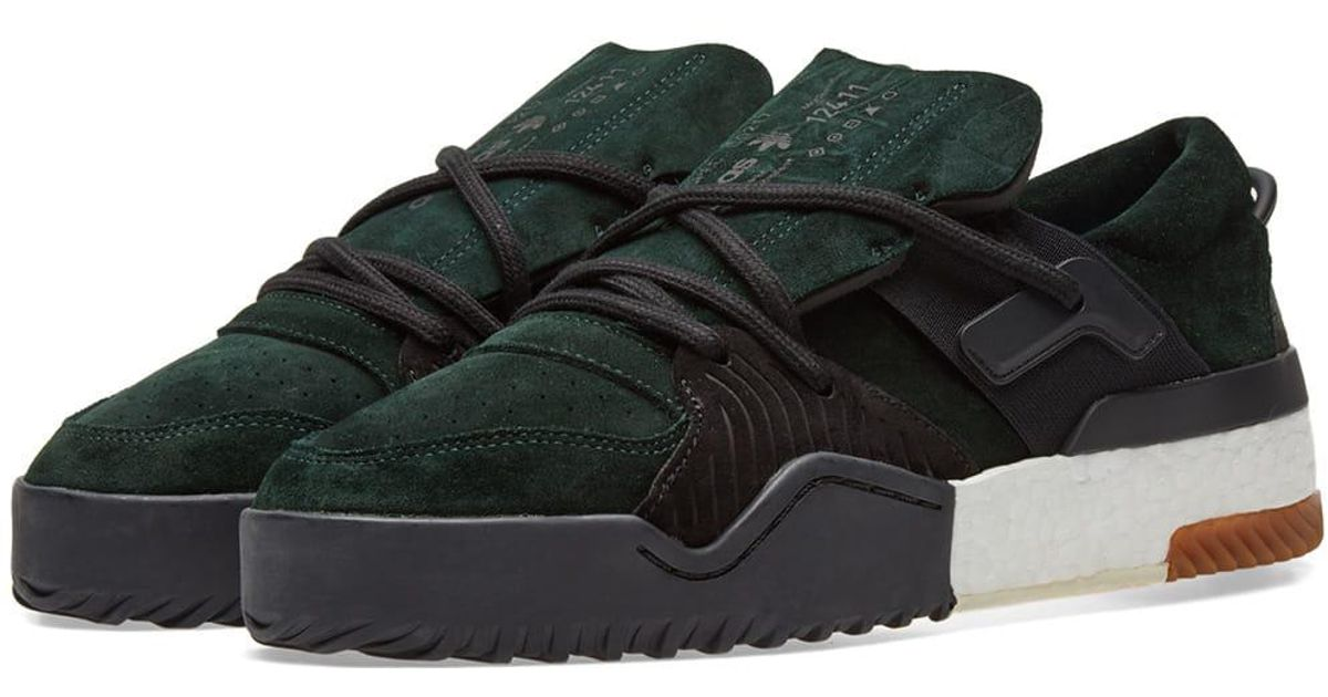 info for 54836 6f351 Lyst - Alexander Wang Adidas Originals By Alexander Wang Bball Low in Green  for Men