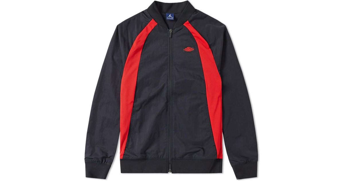 c45822e3d98 Nike Nike Air Jordan 1 Wings Jacket in Black for Men - Lyst
