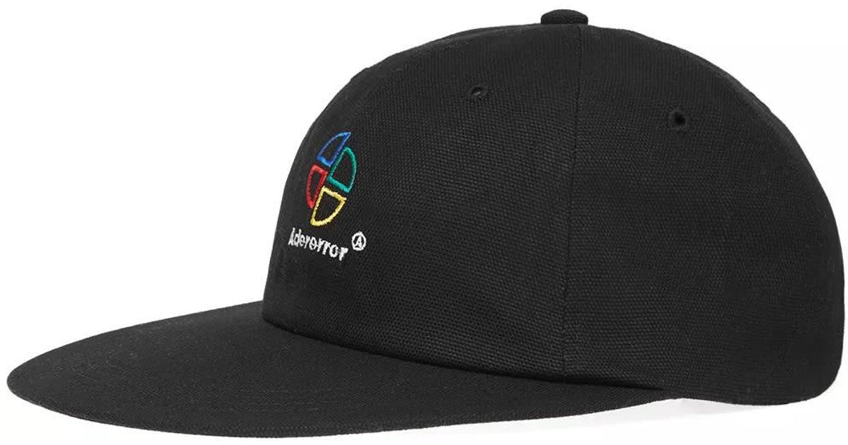6cc66578e ADER ERROR Black Logo Cap for men