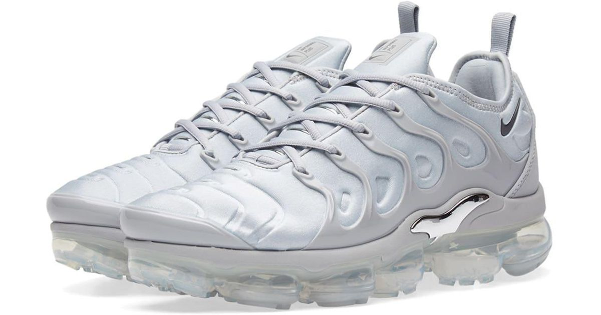 3113530d23a Nike Air Vapormax Plus in Gray - Lyst