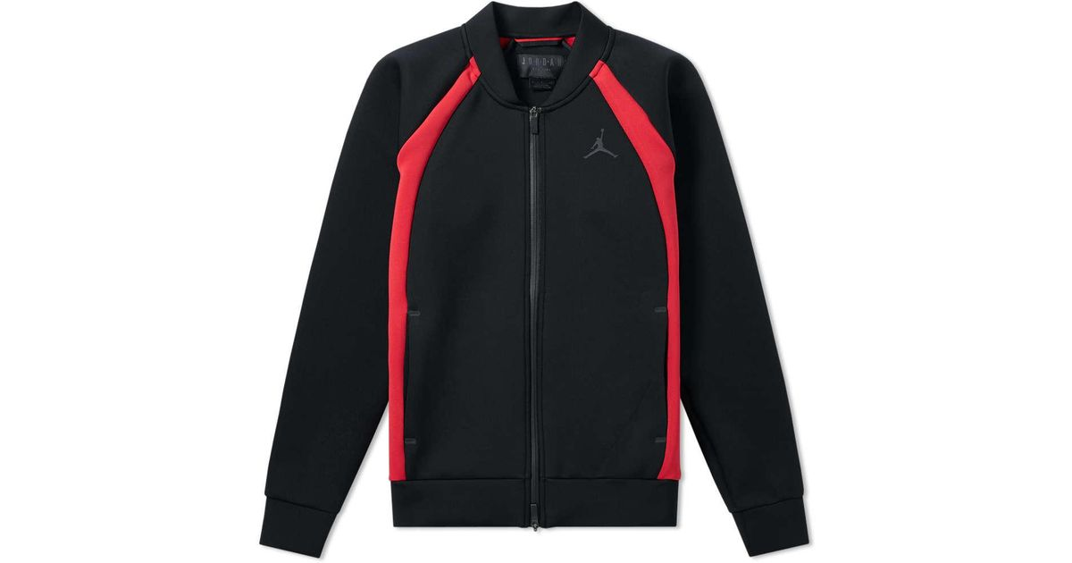 7a00c9bd3ed63e Nike Nike Jordan Flight Tech Jacket in Black for Men - Lyst