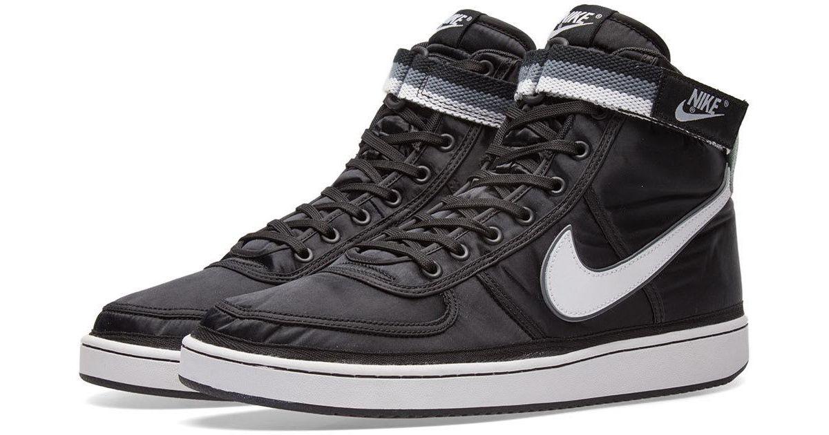 e1e7e8180104 ... Nike Vandal High Supreme in Black for Men - Lyst a few days away e4832  727ff ...