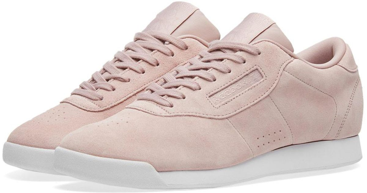 024a1a403c44f Lyst - Reebok Women s Princess Eb in Pink