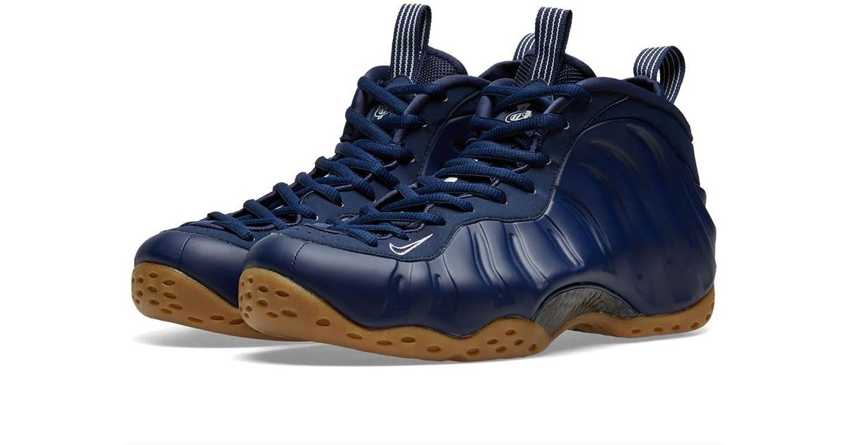 6a4415e83a709 Nike Air Foamposite One in Blue for Men - Save 0.526315789473685% - Lyst