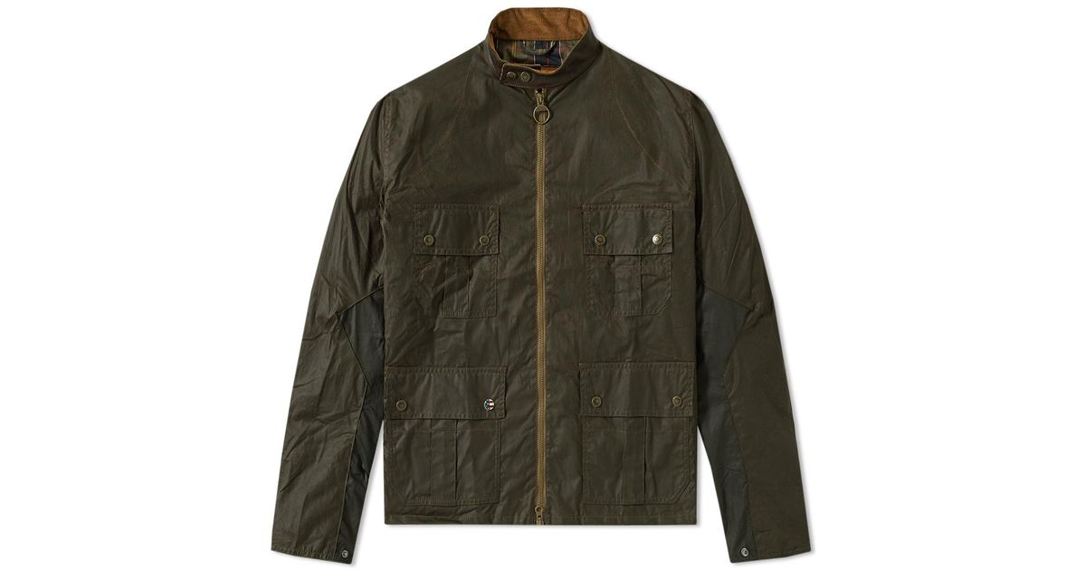 fashion style of 2019 largest selection of 2019 new lower prices Barbour Green Steve Mcqueen Chico Jacket for men