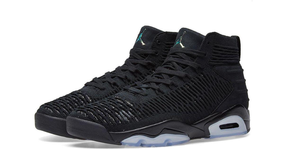 38a522d26ec510 Nike Air Jordan Flyknit Elevation 23 in Black for Men - Lyst