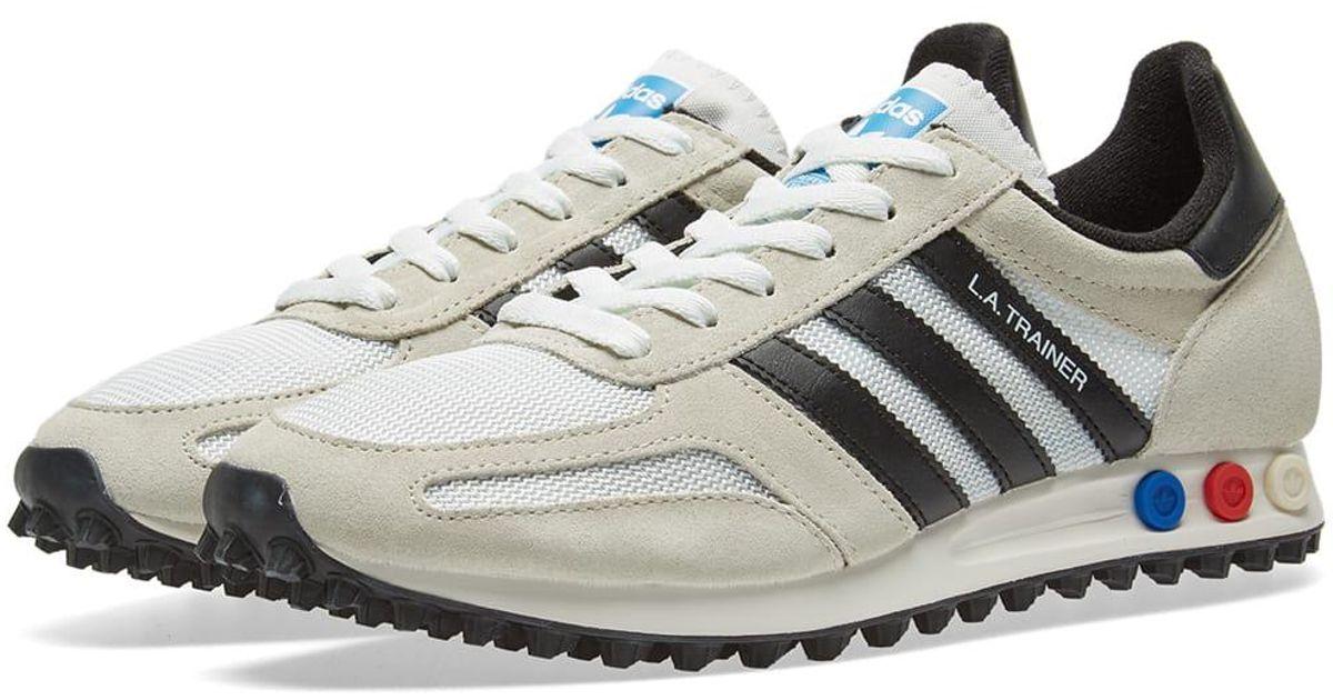 Adidas White La Trainer Og for Men Lyst