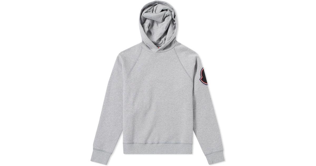moncler grey pullover