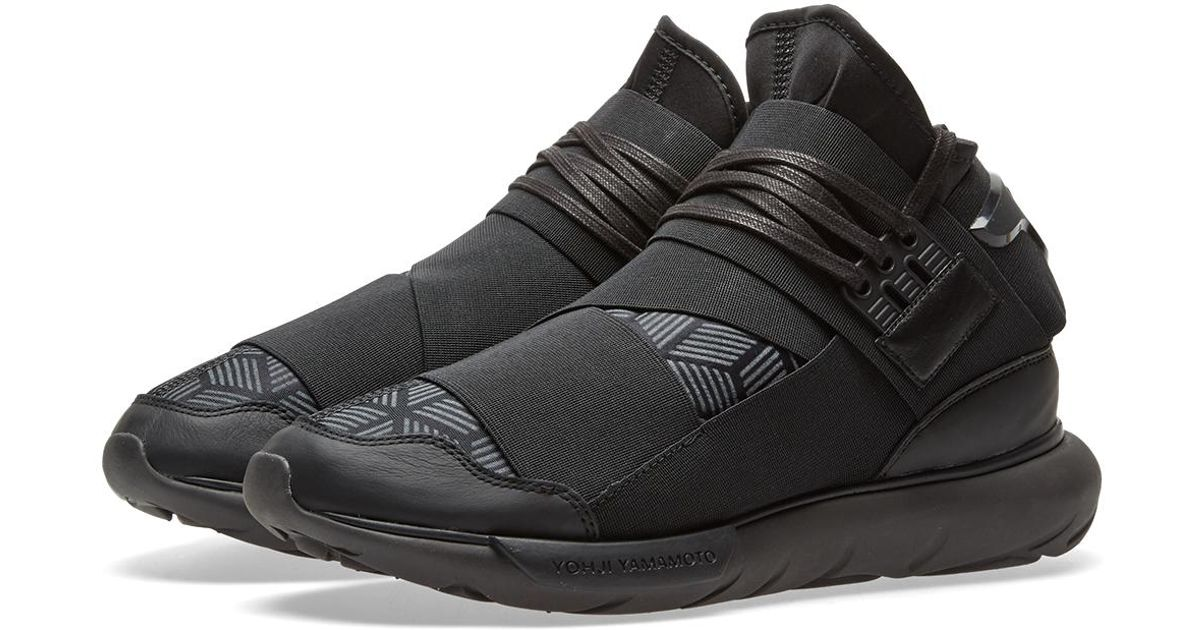 Y-3 Qasa High Reflective in Black for Men - Lyst 87e2507b6259