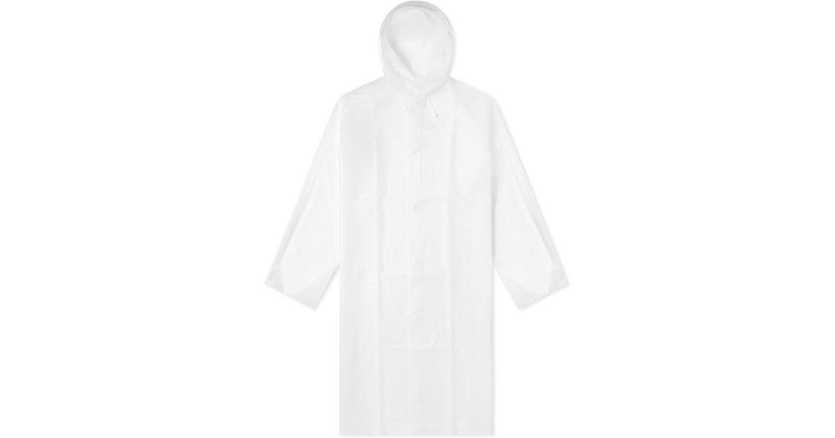 939efe20c78 Lyst - adidas Originals X Études Rain Cape in Gray for Men