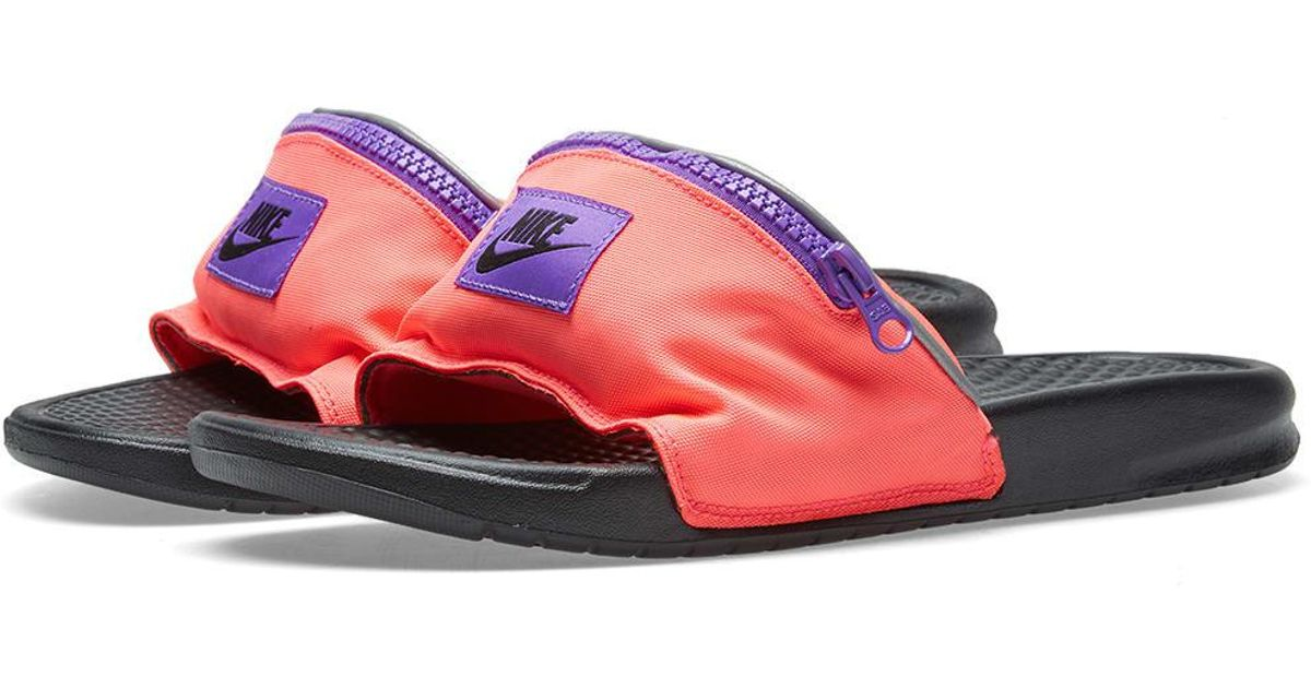 43cae4cffe14 Nike Benassi Jdi Fanny Pack in Pink for Men - Lyst