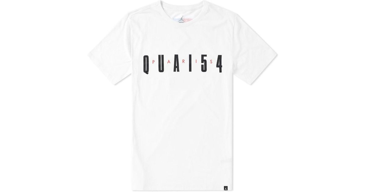 ef7fe99db270bb Lyst - Nike Nike Jordan Quai 54 Tee in White for Men