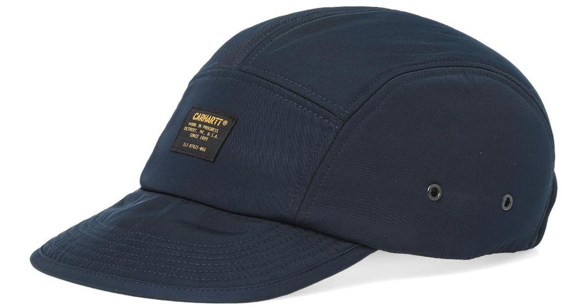 d1fd8b3dd0076 Carhartt WIP Military Logo Cap in Blue for Men - Lyst