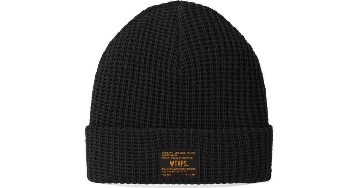 dea9f4e9a9627 WTAPS Ranger Beanie in Black for Men - Lyst