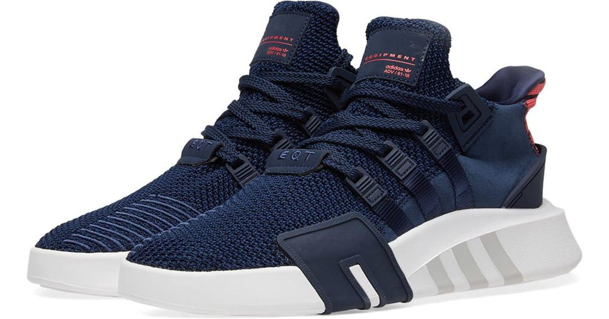 size 40 3d474 bf002 Adidas - Blue Eqt Bask Adv for Men - Lyst