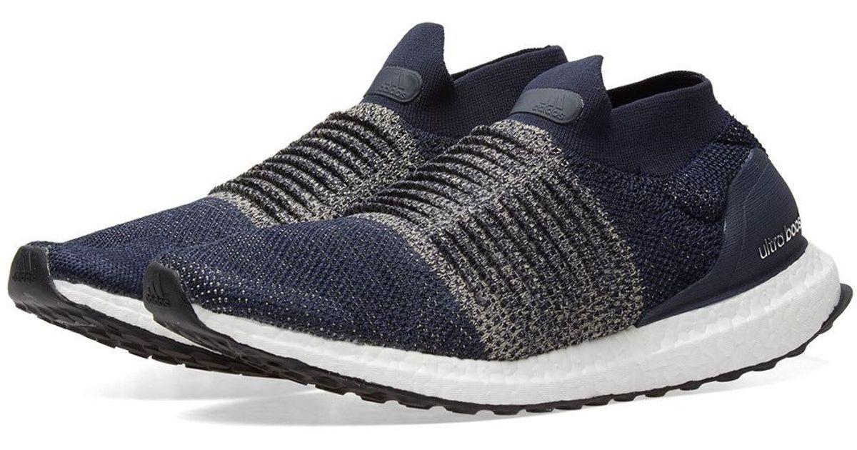 hot sale online 911f4 3a18e adidas ultra boost laceless blue